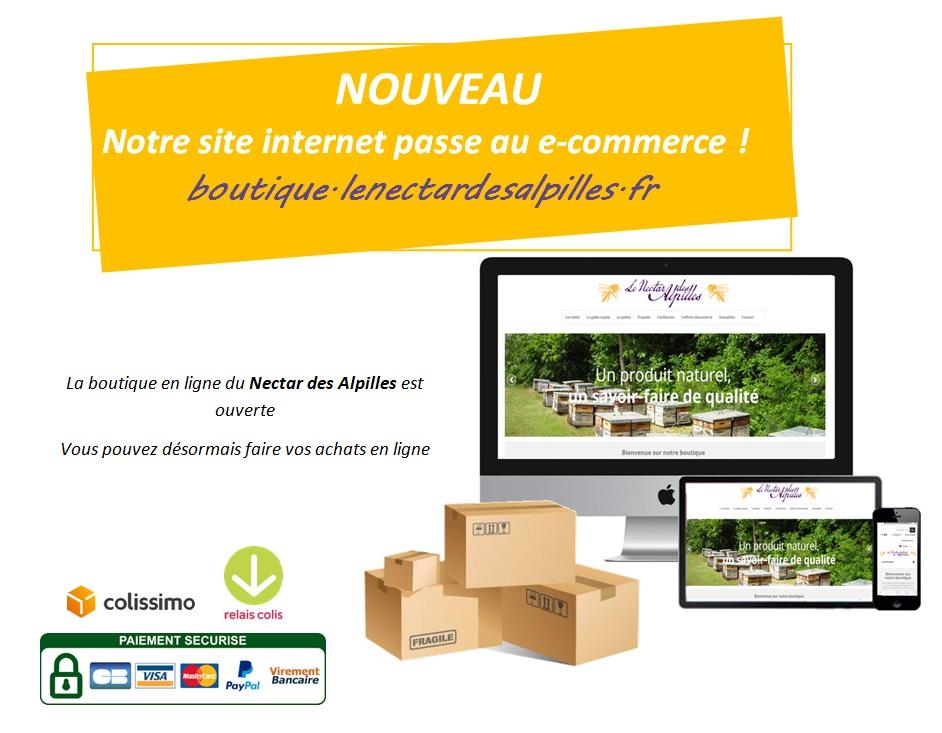 NOUVEAU : Notre boutique en ligne